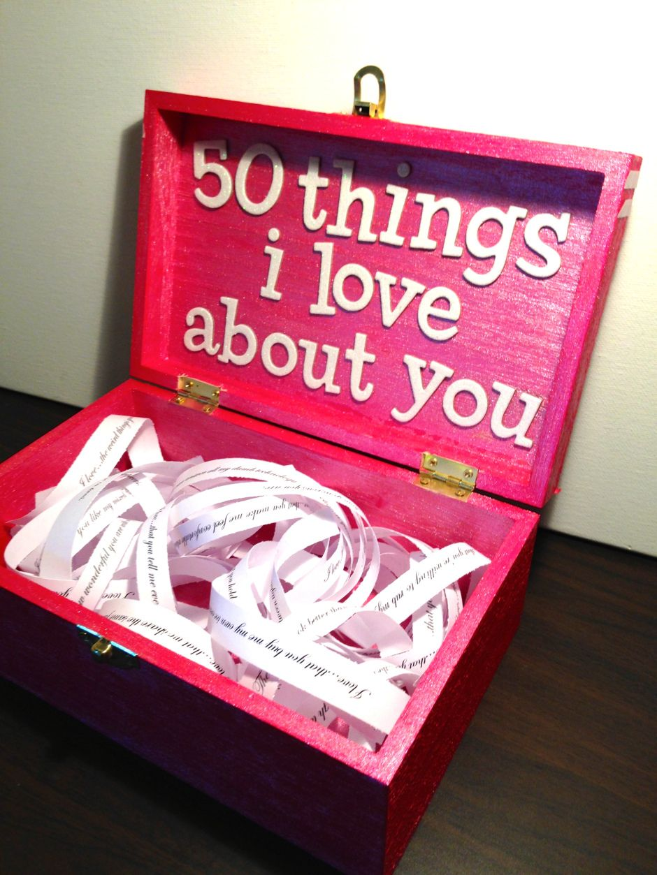 valentine's day: 50 things i love about you | wreck this journal