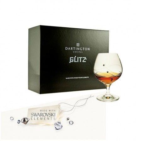 Dartington Glitz Brandy / Liqueur Glasses (Box of 2)