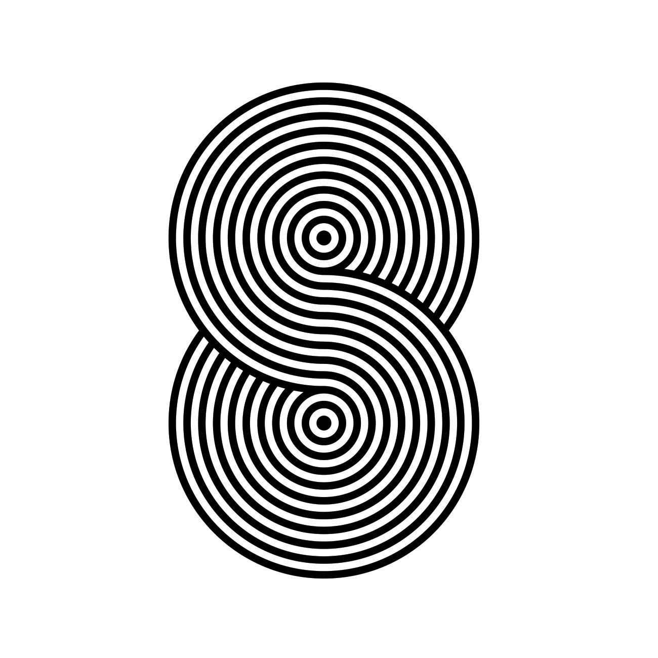 8 36daysoftype coffee logo typography numerology chart