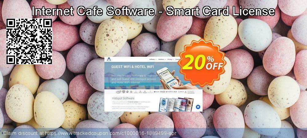Antamedia Internet Cafe Software - Smart Card License Coupon