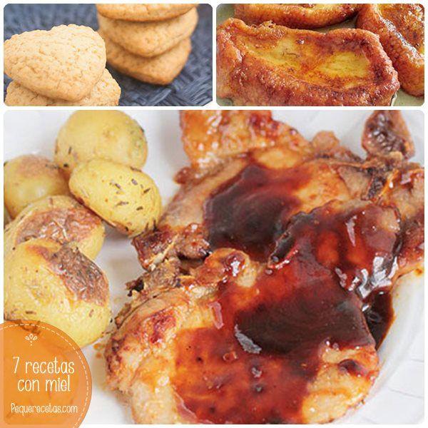 7 recetas con miel ¡dulces y saladas!
