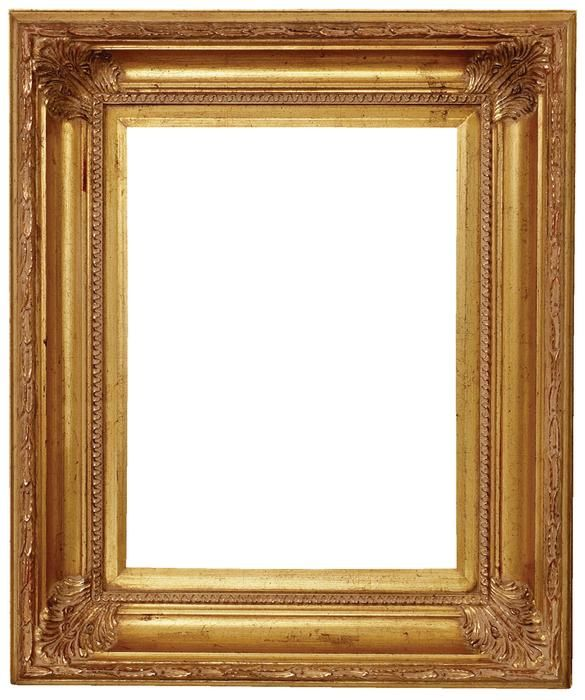 carolina gold baroque frame ornate for the traditional or eclectic