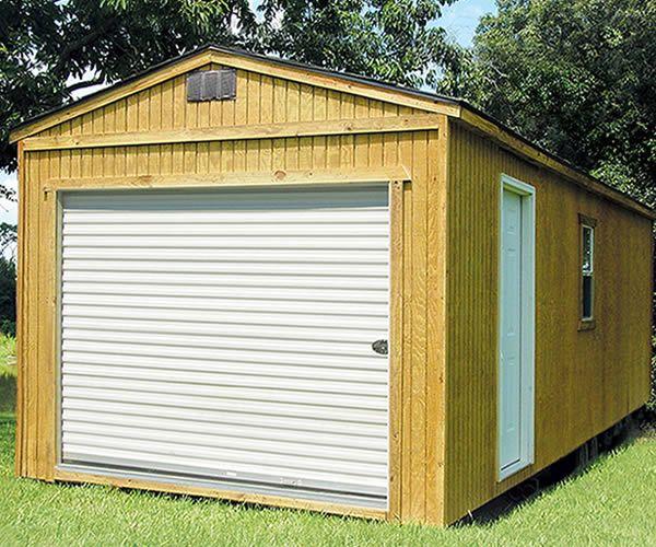 Derksen Portable Garage / Storage Building. Visit www ...