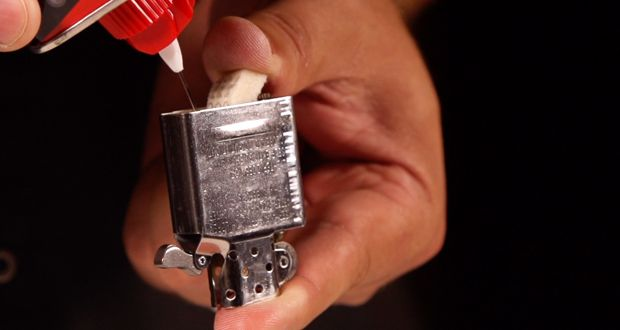 How To Fill Your Zippo Lighter Zippo Zippo Zippo Lighter Filling