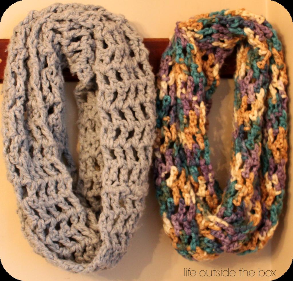 chunky 3 infinity scarf. perfect beginner scarf. | Crochet ...