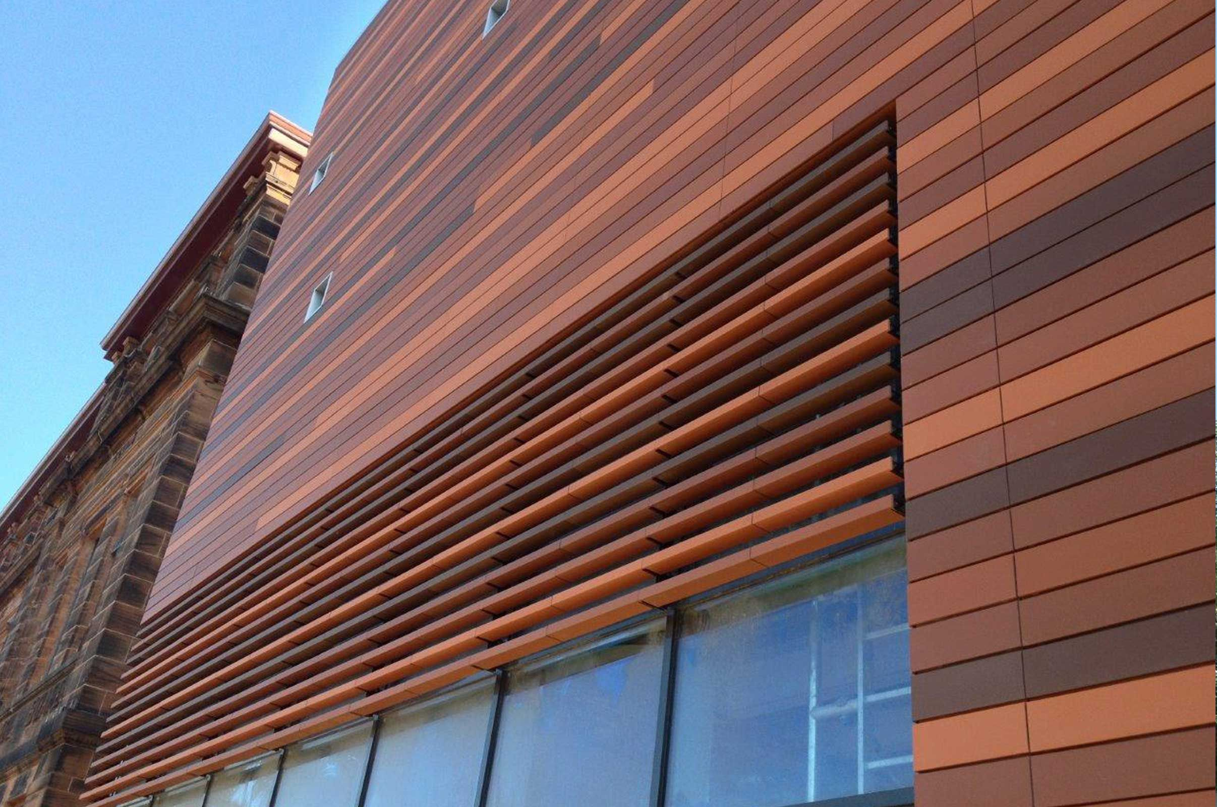 Terra cotta rainscreen google search terra cotta pinterest facade facade architecture for Sustainable exterior cladding materials