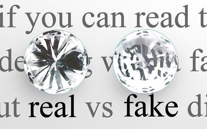 Some Amazing Ways To Identify The Diamond Is Real Or Fake Fake Diamond Real Diamonds Real Jewelry