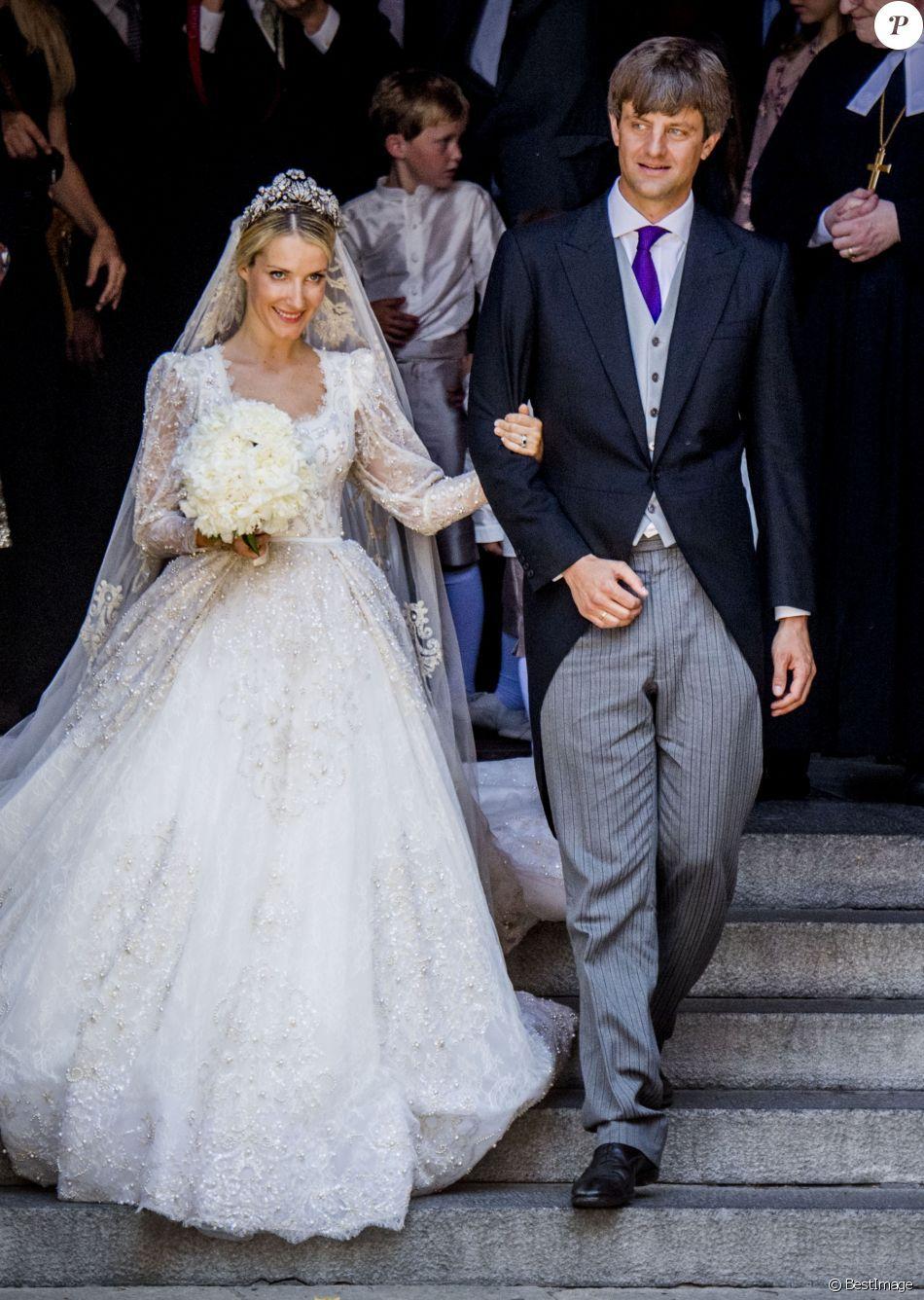 Royal wedding dress  Ernst August de Hanovre et Ekaterina  Un mariage princier de rêve