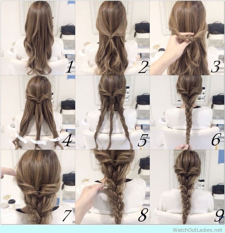 Make A Quick Makeover In Your Look Without Going To A Salon With Only A Braid More Than 20 Cute Braid Hair Styles Hair Tutorials Easy Braided Hairstyles Easy