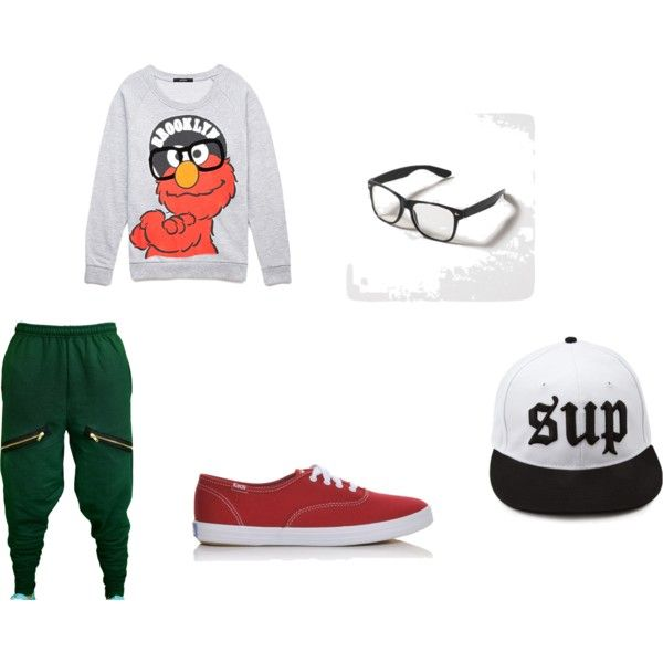 Green and Red hip hop outfit #chachimommas #keds