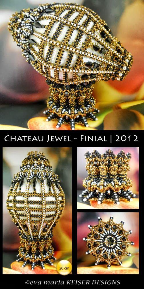 Eva Maria Keiser Designs: Decor:  Chateau Jewel  -  Finial  |  2012