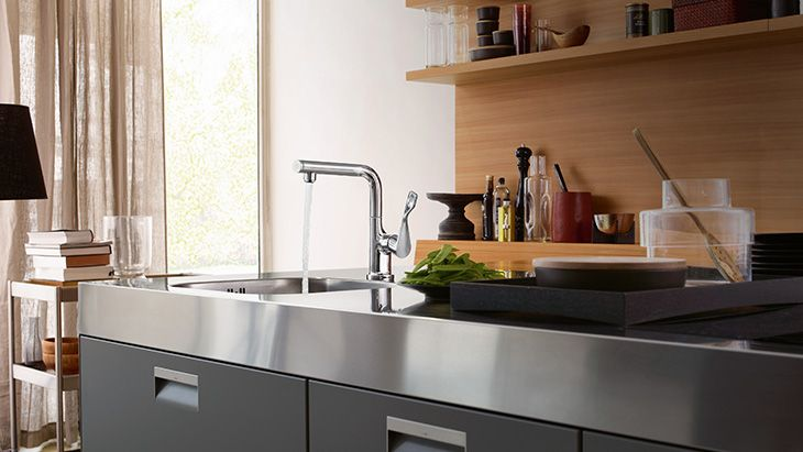 Axor Citterio Select -keittiöhana #netrautalikes #hansgrohe #keittiö