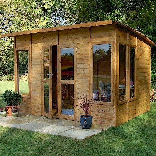 Berkshire Aurora Large Summerhouse Campsite ideas Pinterest