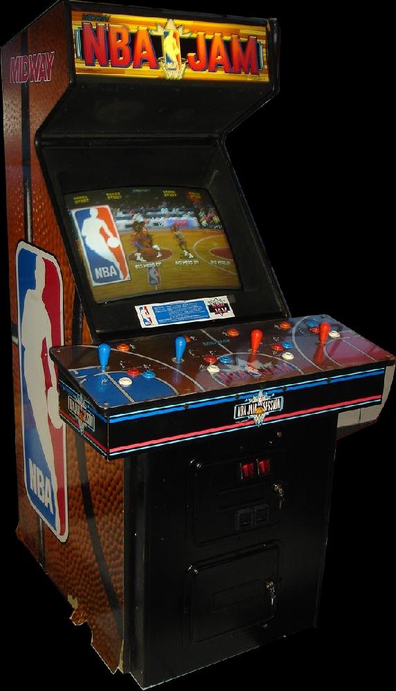 nba jam arcade cabinet - Google Search   sports arcade cabinets ...