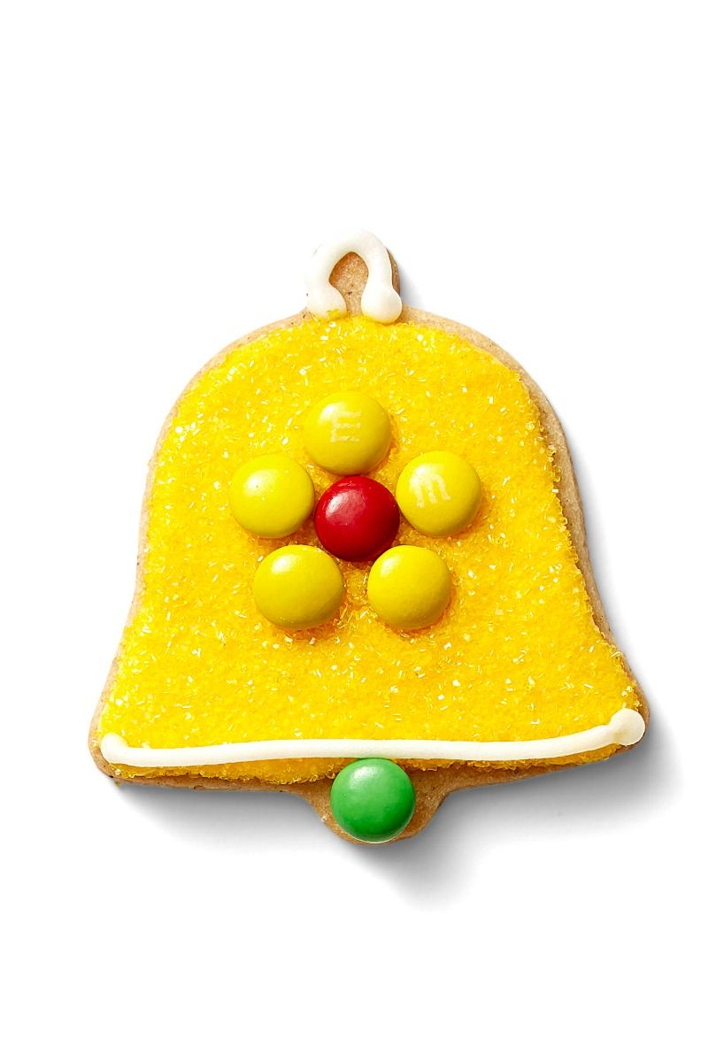 "Yellow 32242 /""Macaron/"" X Old World Christmas Glass Ornament w//OWC Box"
