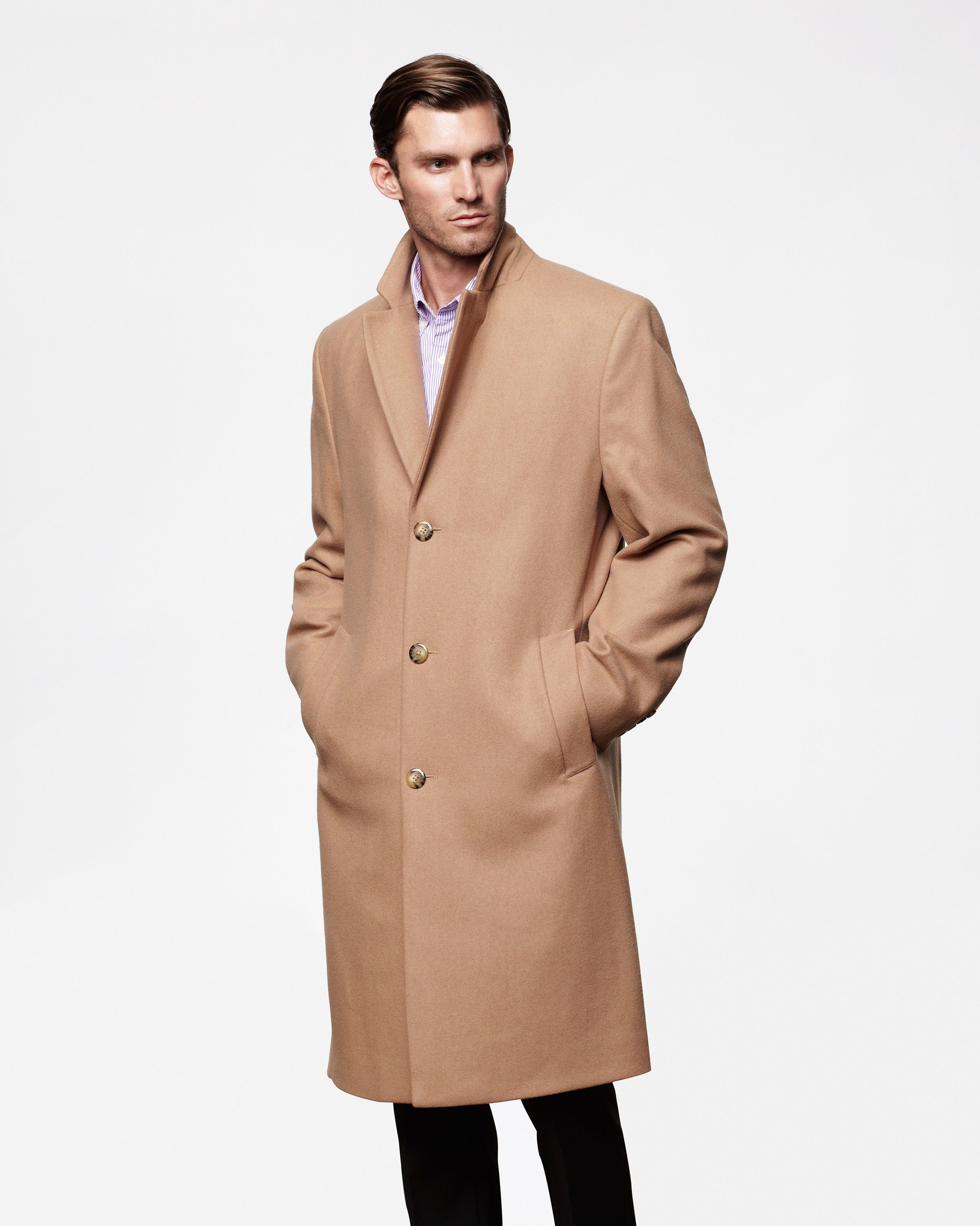Fremont Full Length Wool Top Coat for Men | London Fog | My Style ...