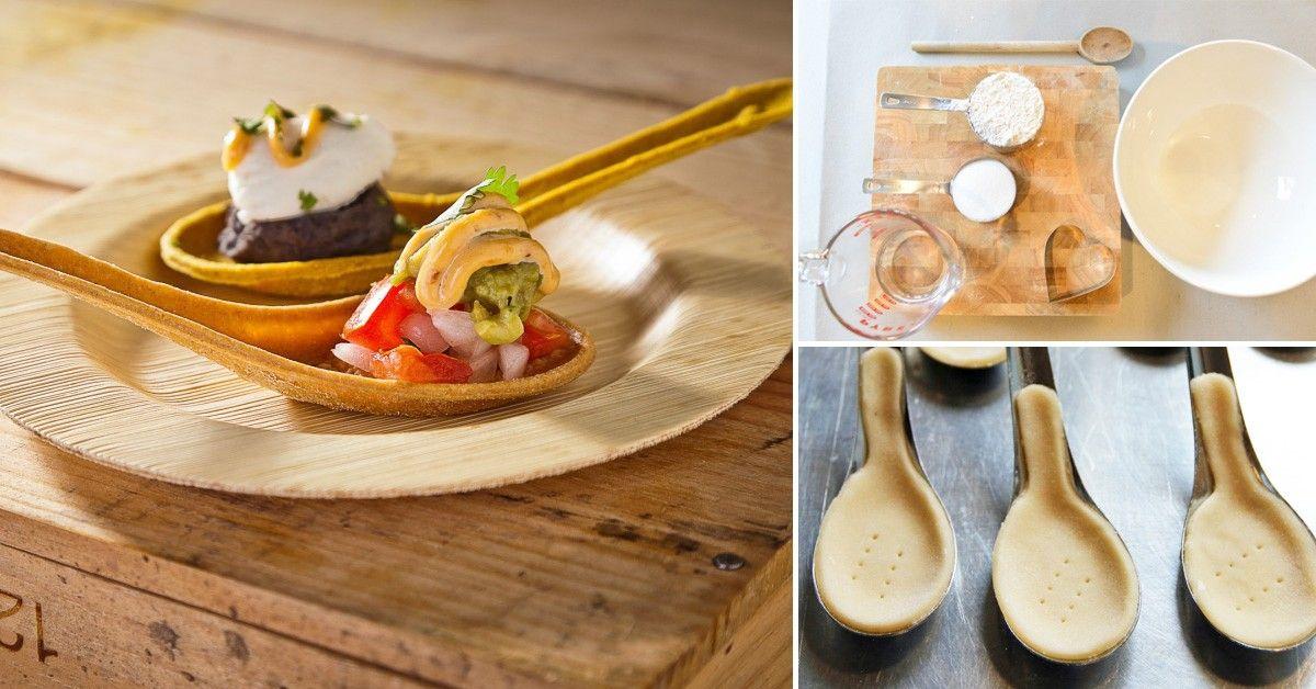 Divertida Receta Para Hacer Cucharas De Pan Bioguia Comida Desayunos Sanos Recetas De Cocina
