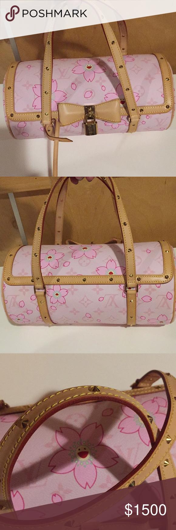 0ba7c392a26 Louis Vuitton Murakami Papillon cherry blossom bag Boutique