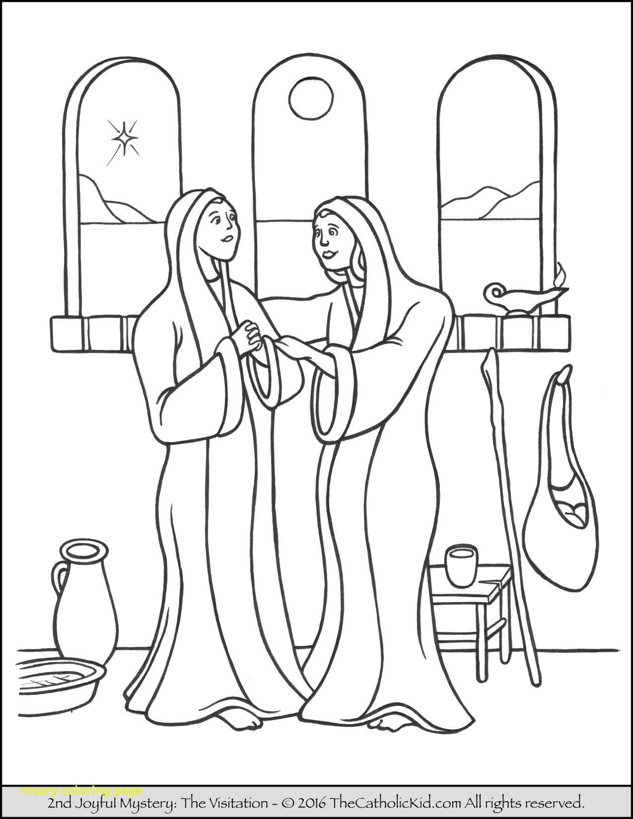 27 Creative Photo Of Rosary Coloring Page Coloring Pages