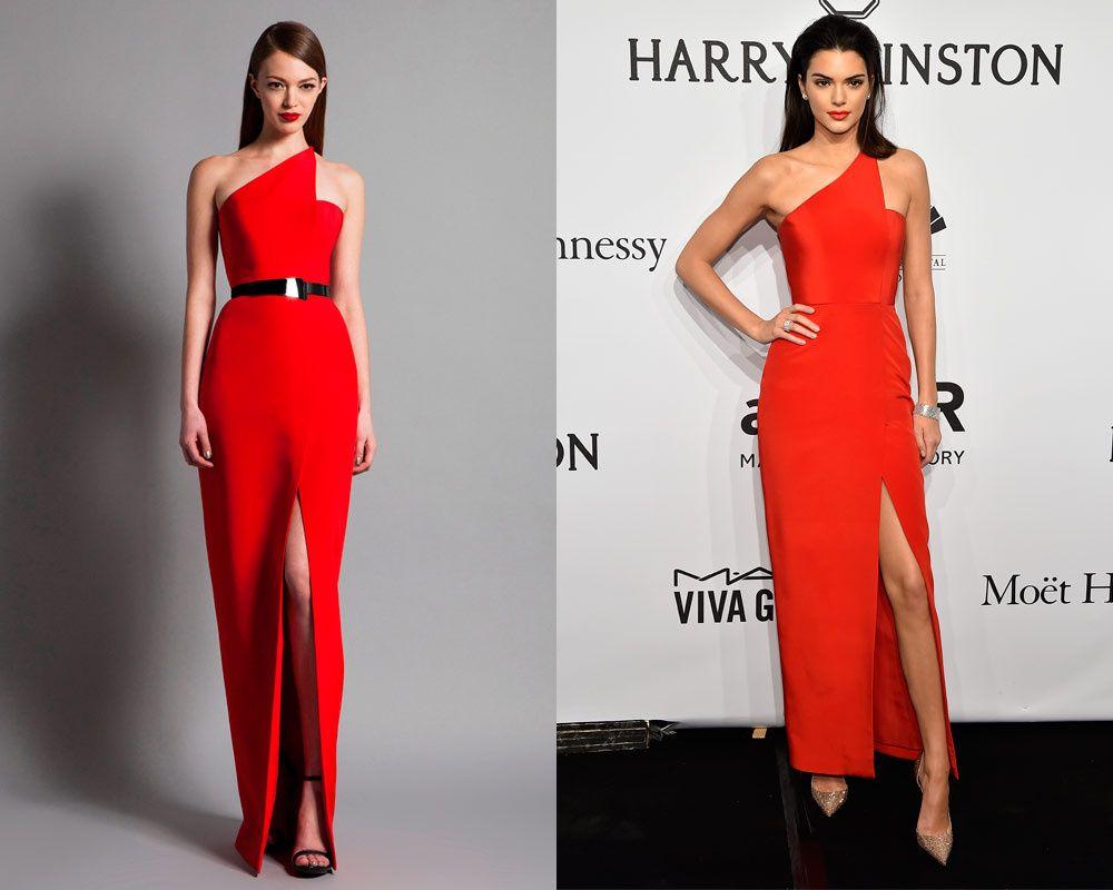 Los Looks Deseados De La Pasarela A La Red Carpet Moda