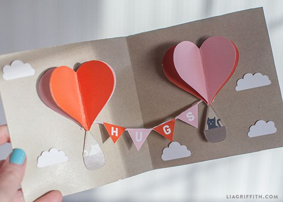 DIY Valentine PopUp Card – Create Valentine Cards