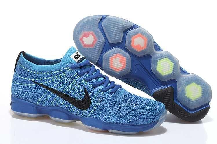 promo code 281ee 49ca2 1830   Nike Zoom Fit Agility Flyknit Herr Royal Svart Blå SE233480wsunidgD