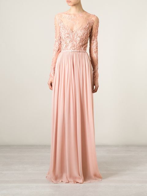 Beautiful blush pink Elie Saab gown