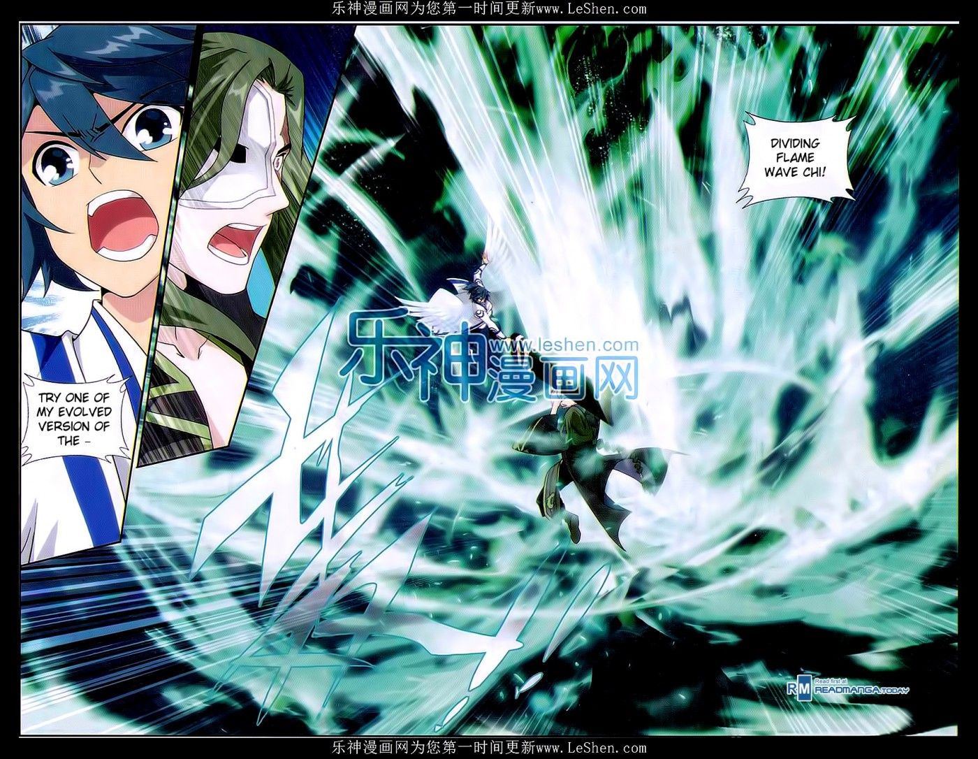 Read manga Battle Through The Heavens 159 online in high