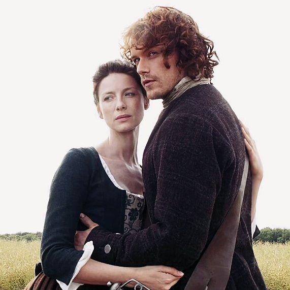 Jamie y Claire   #JamieFraser  #ClaireFraser  #JamieClaire  #Outlander