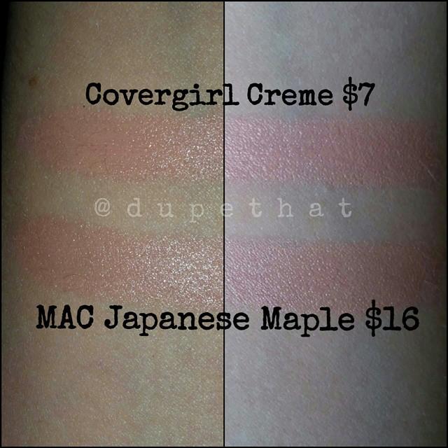 Dupethat Mac Japanese Maple Dupes Makeup Dupes Pinterest
