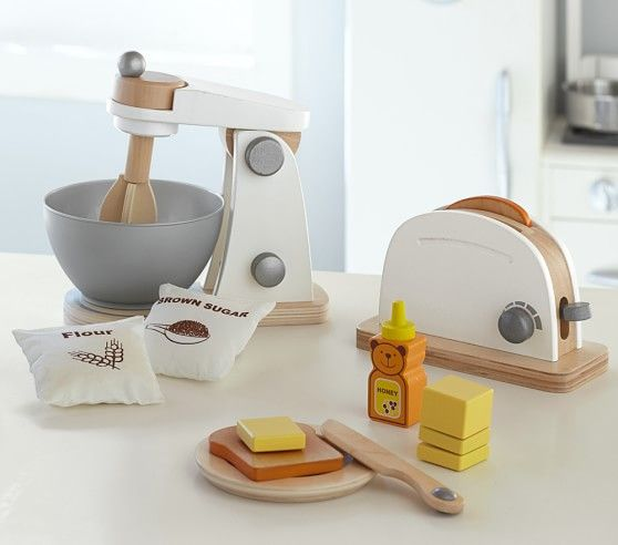 Wooden Appliances Coffee Maker Kid Gift Ideas Cooking