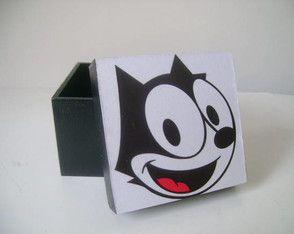 Caixa Gato Felix