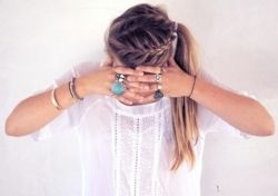 rings & braids, perfect summer combo