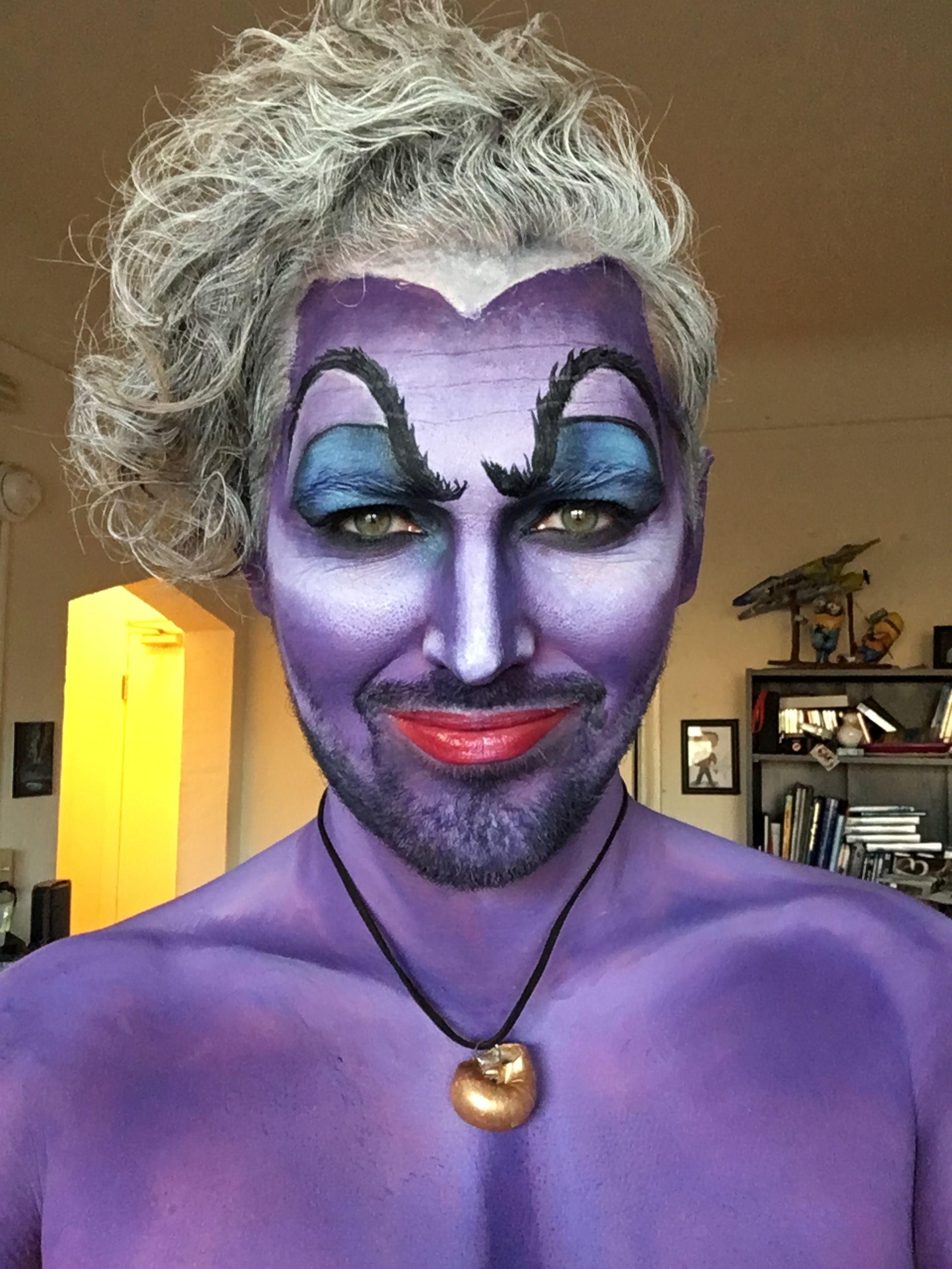 Ursula makeup Ursula makeup, Makeup, Hair color
