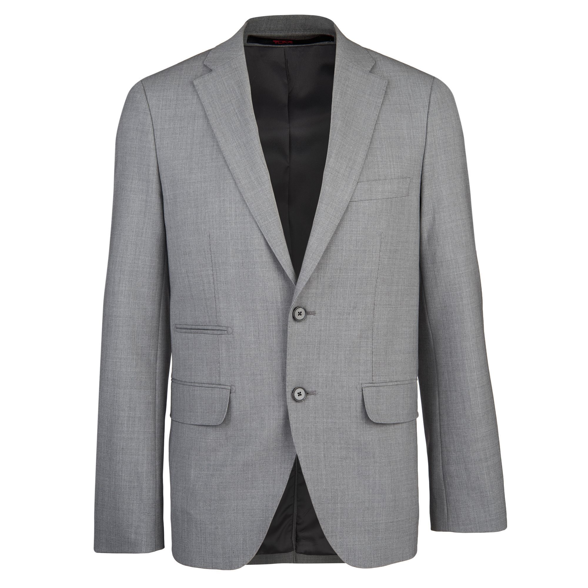 NWT TUMI classic travel blazer 46 jacket sport coat grey $595 w ...