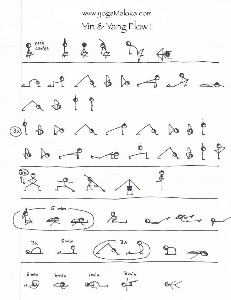 Yin Yoga Asanas Sequence