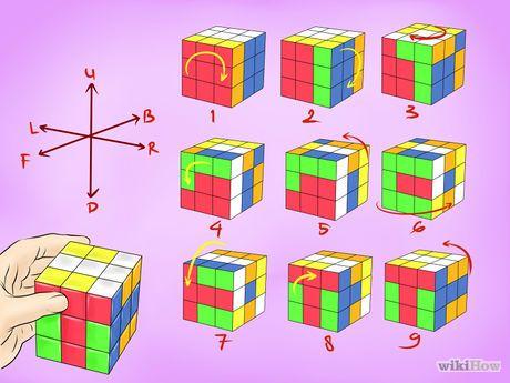Cara Membuat Pola Kubus Rubik Yang Keren Kubik Rubik Kubus Rubik Dadu