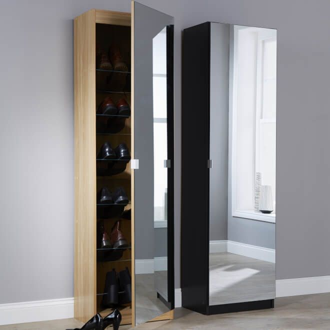 The Tall Design And Narrow Depth Allows The Unit To Be Used In Tight  Spaces. This One Door Cupboard Is Available In Different Sizes And Tall Mirrored  Shoe ... Amazing Pictures