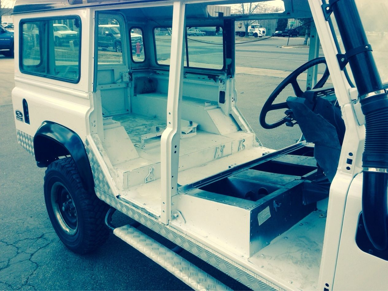 Defender 110 before coatings. After pictures to follow