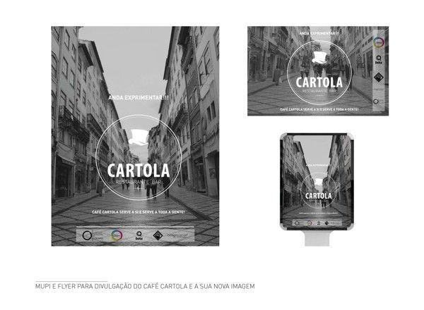 Identidade Café Cartola by Andreia Encarnação, via Behance