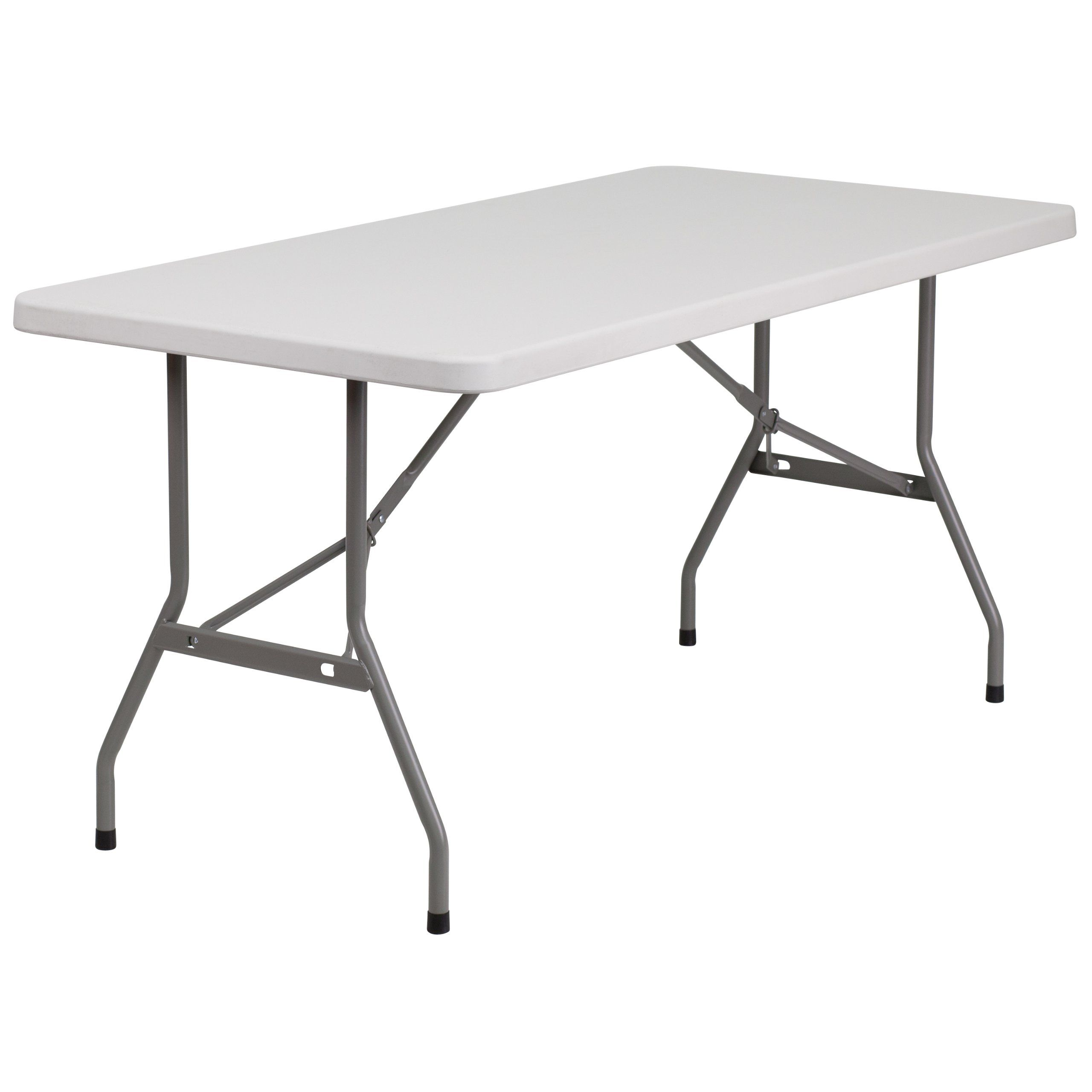 Flash Furniture Rb 3060 Gg 30 Inch Width By 60 Inch Length Blow Molded Plastic Folding Table Gray White Folding Table Flash Furniture Furniture
