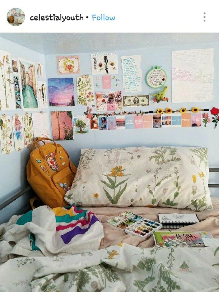 Pin by Suki robo 零 on room ideas | Artsy bedroom ...