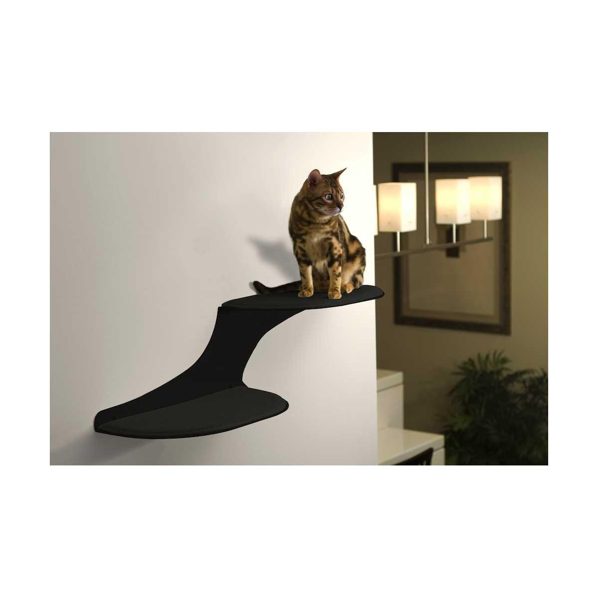 Cat floating cat shelf cat and cloud floating cat