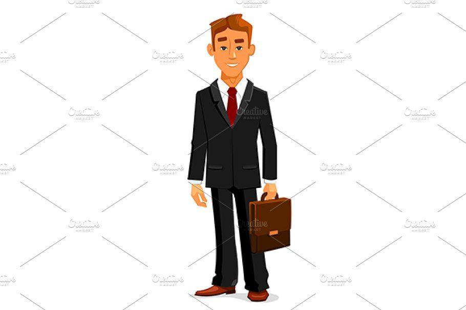Business Woman Thinking Vector Animation Art Character Design Business Portrait Photography Teacher Cartoon
