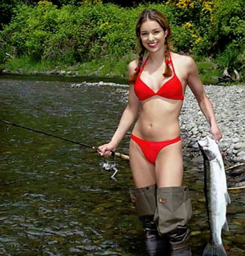 Pin by rob ayres on fishing sexiest sport ever pinterest for Women fishing in bikinis