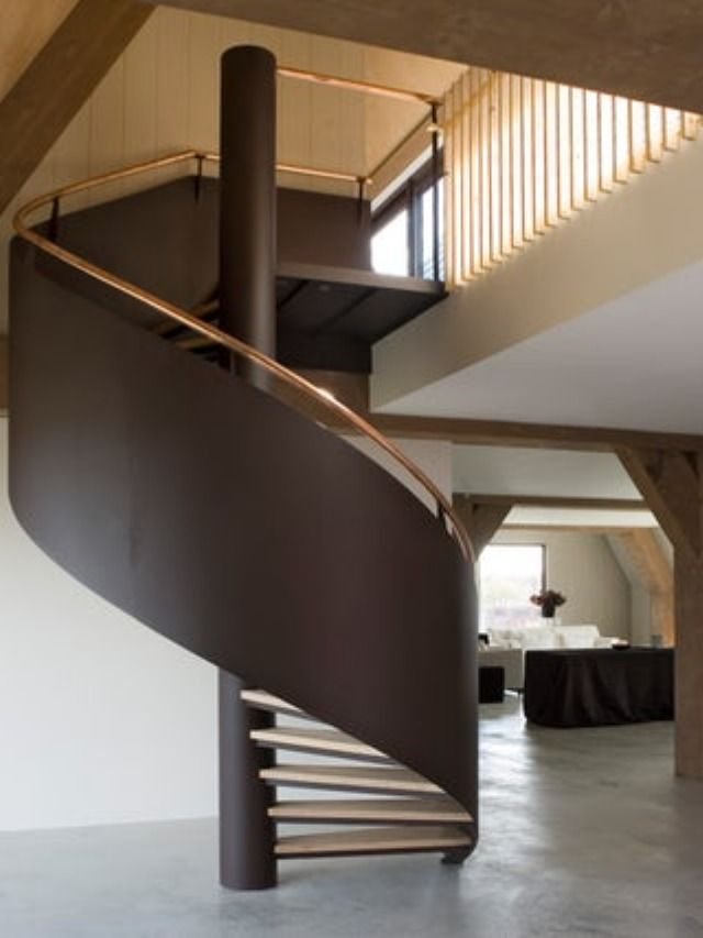 Best A Spiral Staircase Is Often Seen As A Functional Solution 400 x 300