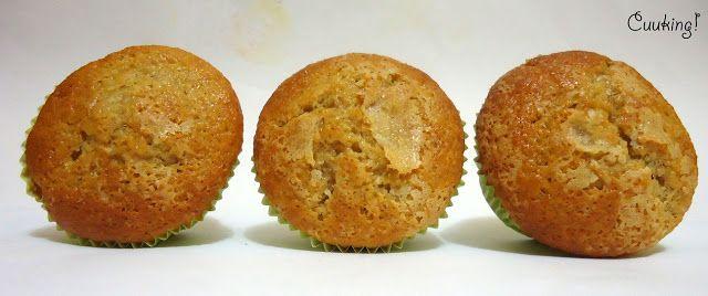 Muffins de buttermilk y membrillo