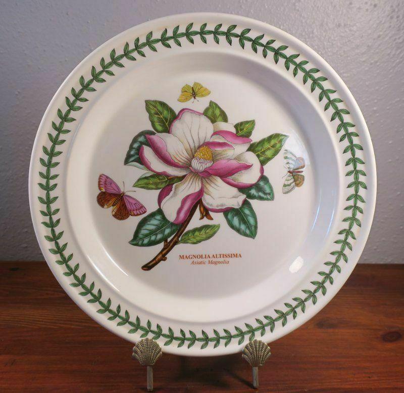 Portmeirion Botanic Garden Magnolia Altissima Asiatic Dinner Plate