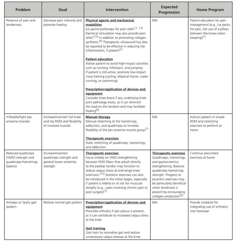 Pes Anserine Bursitis Pain Diagram - Application Wiring Diagram •