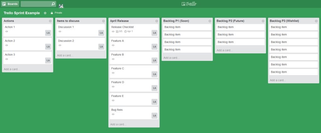 If You Have An Interest In Trello Agile Or Scrum Methodology Here Are Some Ideas For How Can Be Used To Help Manage Your Project